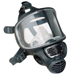 Czarna Pełnotwarzowa Maska Przeciwgazowa Scott Promask BLACK - Rozmiar M - EN136 sklep BHP