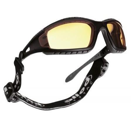 Okulary Ochronne Bolle Tracker II - Żółte Soczewki - EN172, EN166.1.F.T, EN166.1.B.3.4