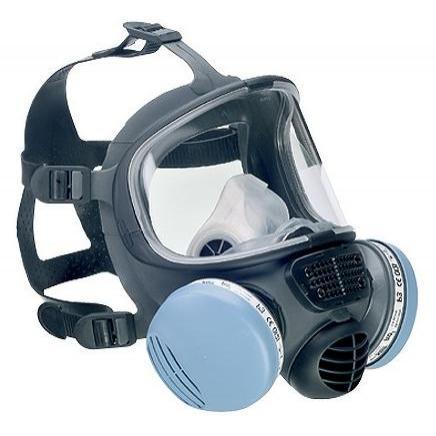 Silikonowa Całotwarzowa Maska Scott Promask² - EN136