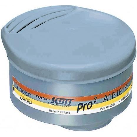 Filtropochłaniacz bagnetowy SCOTT Pro² A1B1E1P3 - 2 sztuki - EN140, EN143, EN14387 - Profile² / Profile60 / Promask²