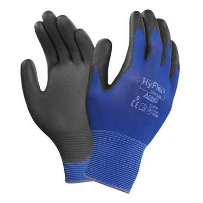 Rękawice Ochronne Powlekane Poliuretanem Ansell 11-618 HyFlex - Wielozadaniowe - EN388 (3121)