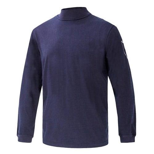 Ognioodporna i Antystatyczna Koszulka Phoenix-FR - Tshirt - Kolor Granatowy - EN531 EN1149-3/5 EN 11612 IEC 61482-2