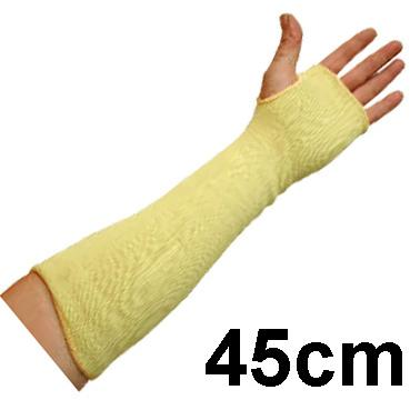 Kevlarowy Rękaw Antyprzecięciowy UCI - Odporność na przecięcia Poziom 3 - Długość 45cm - EN388 1343 EN407 X1XXXX