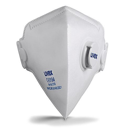 Półmaska Filtrująca Z Zaworem UVEX Silv-Air C 3110 - FFP1 - 15 Sztuk