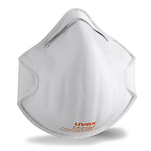 Półmaska Filtrująca Bez Zaworu UVEX Silv-Air C 2200 - FFP2 - 20 Sztuk