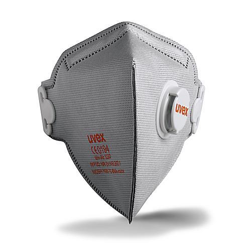 Półmaska Filtrująca Z Zaworem oraz Aktywnym Filtrem Węglowym UVEX Silv-Air C 3220 - FFP2 - 15 Sztuk sklep BHP