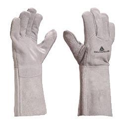 Rękawice Spawalnicze Wykonane ze Skóry Bydlęcej - Długość 35cm - EN388 4242 EN407 413X4X sklep BHP