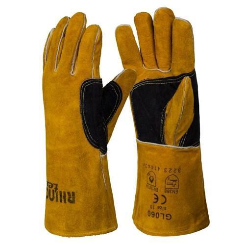 Wytrzymałe Rękawice Spawalnicze RHINOweld MIG - Grubość 1.3mm - EN420 EN388 (3223) EN12477