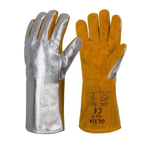 Aluminizowane Rękawice Spawalnicze RHINOweld - EN420 EN388 (3223) EN12477