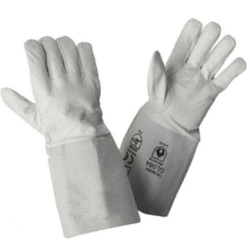 Białe Rękawice Spawalnicze RHINOweld TIG - EN420 EN388 3111