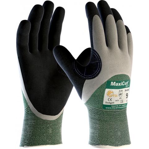 Rękawice Robocze ATG MaxiCut Oil 34-305 - Powlekanie 3/4 - 25 cm - EN388 4331