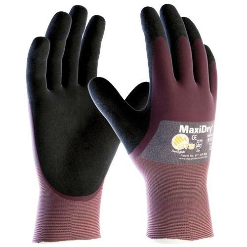 Rękawice Ochronne ATG MaxiDry 56-425 - 3/4 Powlekane - EN388 4121