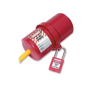 Obrotowa Blokada Dużych Wtyczek Elektrycznych Master Lock 488 sklep BHP