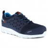 Lekkie damskie obuwie robocze Oxford - S1P - SRC - kolor niebieski- EN20345 - IB131S1P sklep BHP