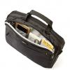 Biznesowa torba na laptopa 14 cali - 36 x 30 x 6.5cm - czarna - LB625