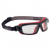 Okulary ochronne Tracker II z wkładką RX Ready posiadające żółte soczewki przeciwmgielne - EN172  EN166.1.F.T  EN166.1.B.3.4 z paskiem - -TRACPSJ-RX sklep BHP