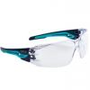 Lekkie okulary bezpieczeństwa Silex Clear  z elastycznymi zausznikami 160 ° -  EN166 - SILEXPSI sklep BHP