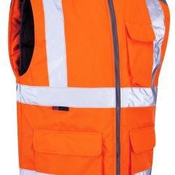 Ocieplacz odblaskowy Torrington - pomarańczowy - EN471 klasa 2 GO / RT3279 - BW01-O