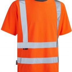 Koszulka z odblaskami koloru pomarańczowego Braunton Coolviz - EN471 klasa 2 GO / RT 3279 - T02-O