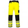 Spodnie robocze Portwset koloru żółtego z odblaskami PW3 EN ISO 20471 - PW340YBR sklep BHP PPE24.pl