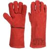 Rękawice spawalnicze A505 przeznaczone do użytku w zimnie - Czerwone - EN 388 EN 511 EN 407 EN 12477 Typ A - Rozmiar XL
