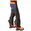 Uniwersalne legginsy bezpieczeństwa do pił łańcuchowych typu A -  EN381-5 klasa 1 20 m / s - typ A.